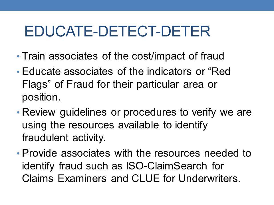 EDUCATE-DETECT-DETER
