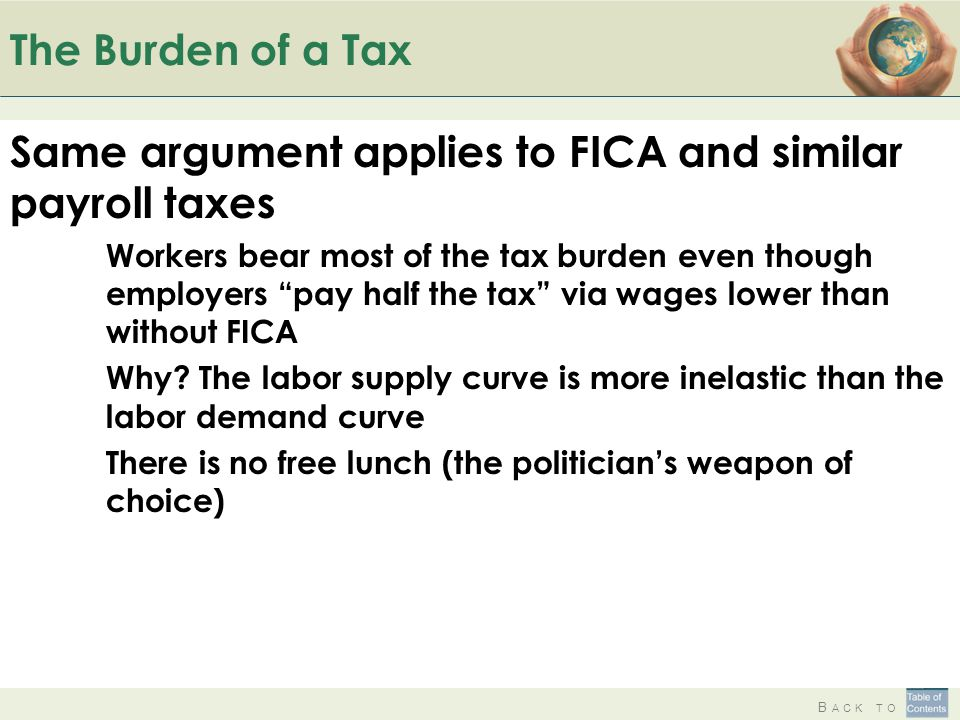 Same argument applies to FICA and similar payroll taxes