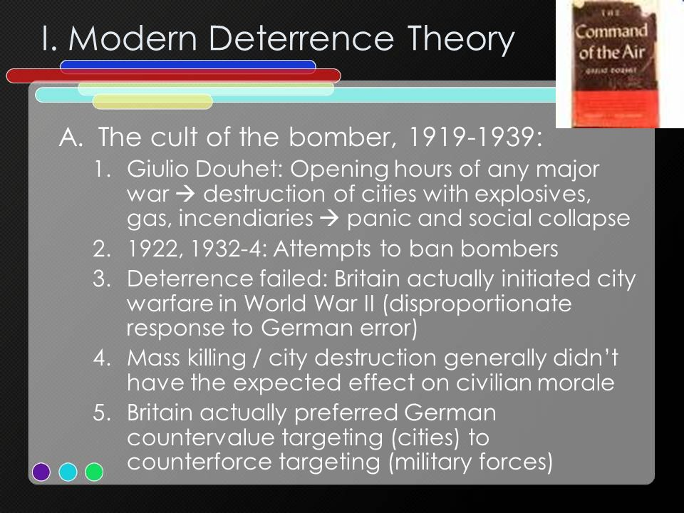 I. Modern Deterrence Theory