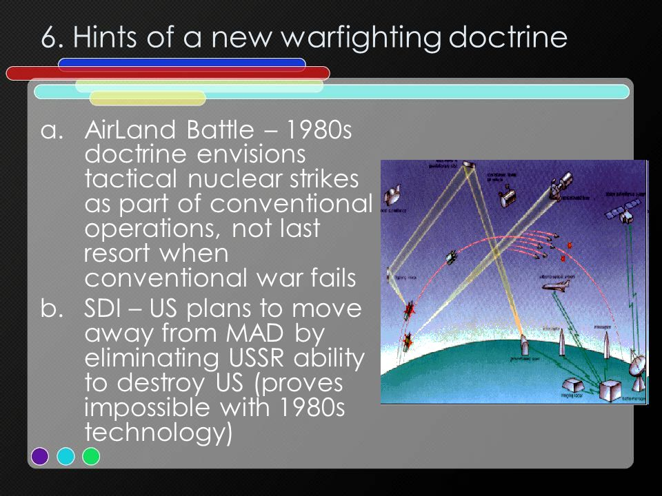 6. Hints of a new warfighting doctrine