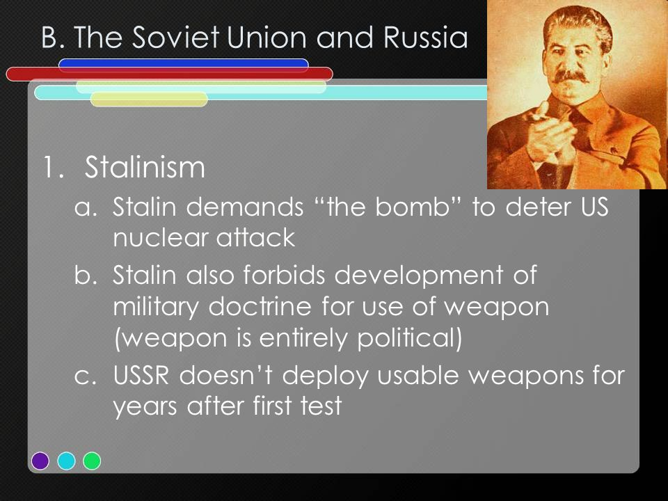 B. The Soviet Union and Russia