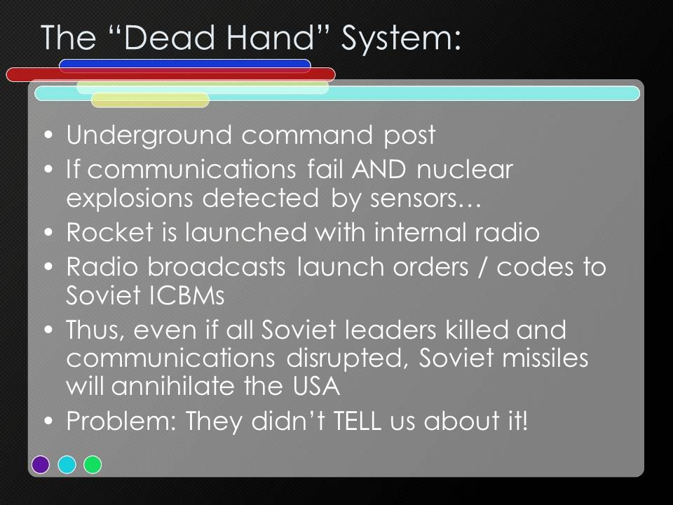 The Dead Hand System: