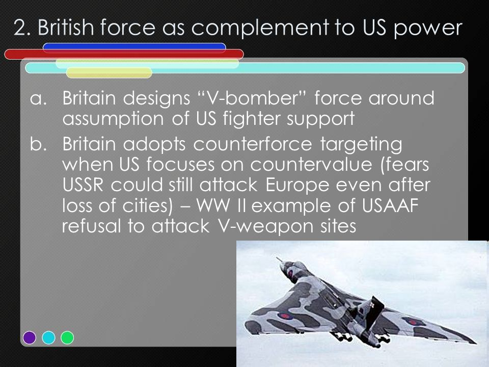 2. British force as complement to US power