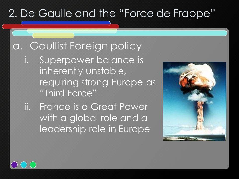 2. De Gaulle and the Force de Frappe