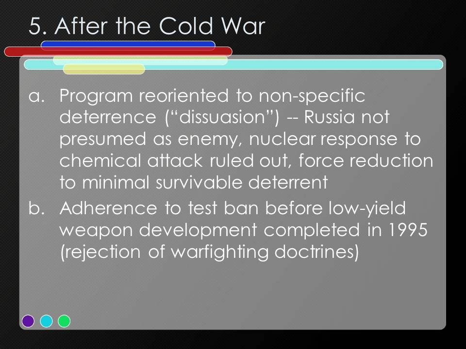 5. After the Cold War