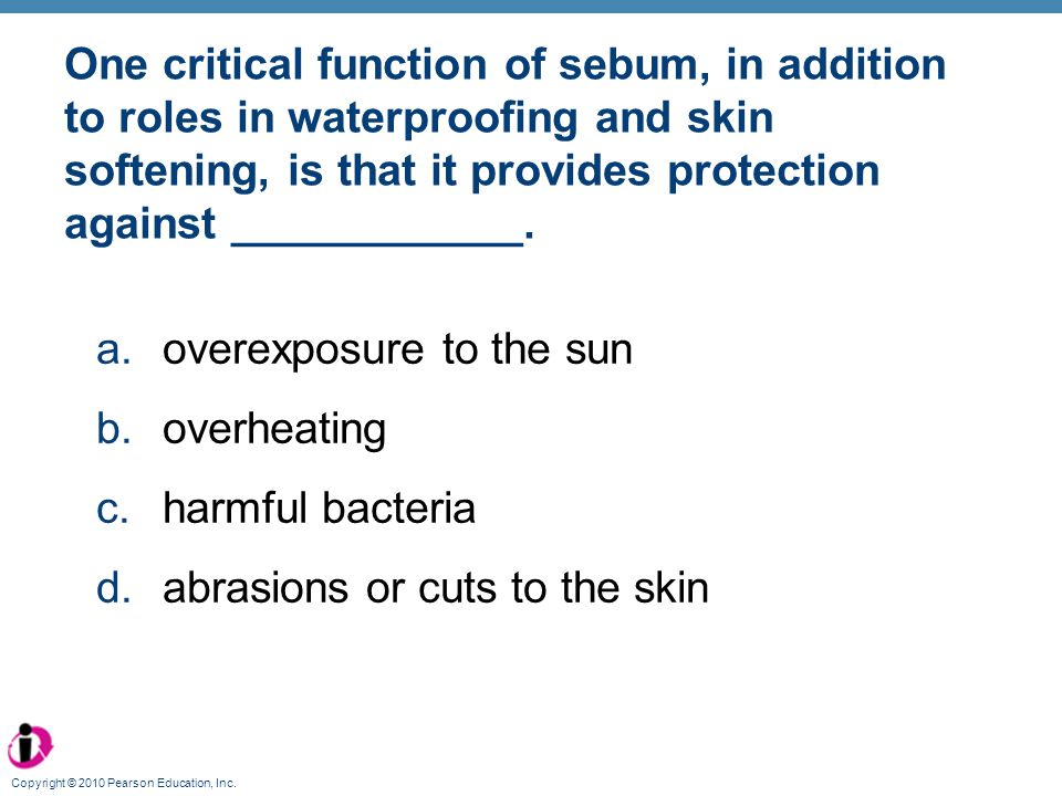 overexposure to the sun overheating harmful bacteria