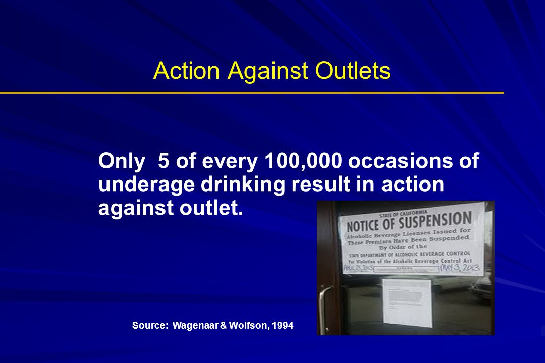 Action Against Outlets