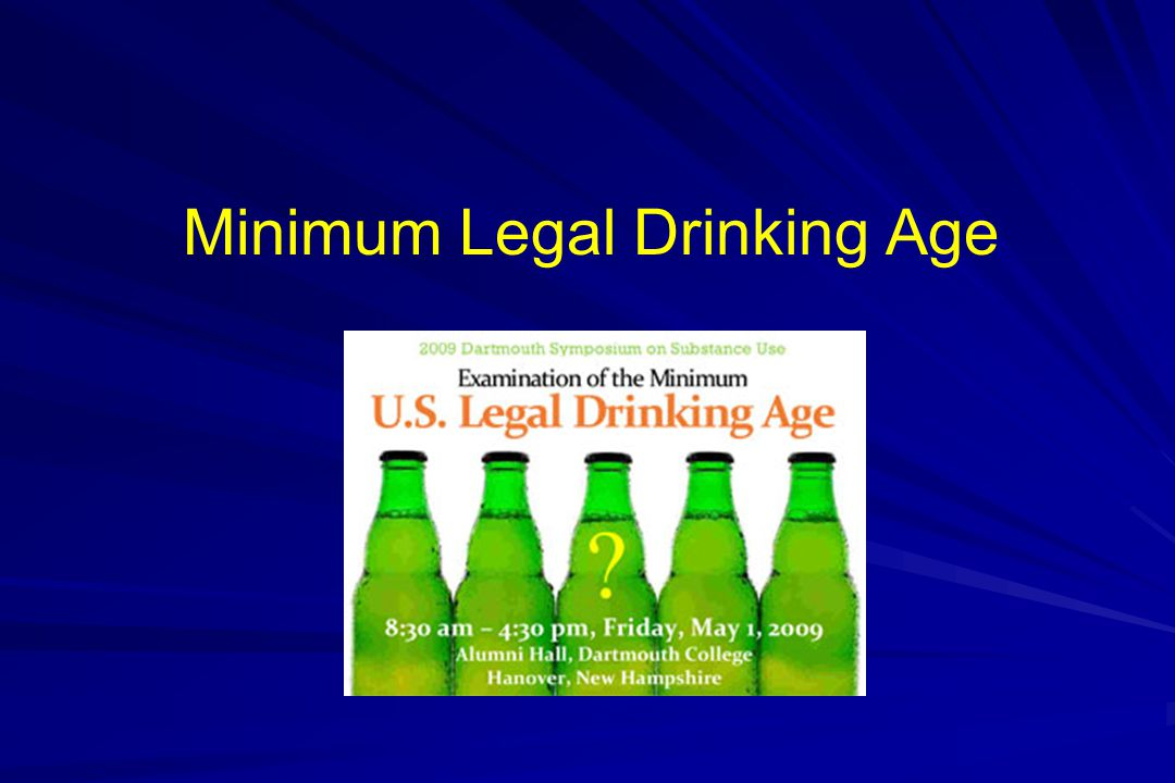 Minimum Legal Drinking Age