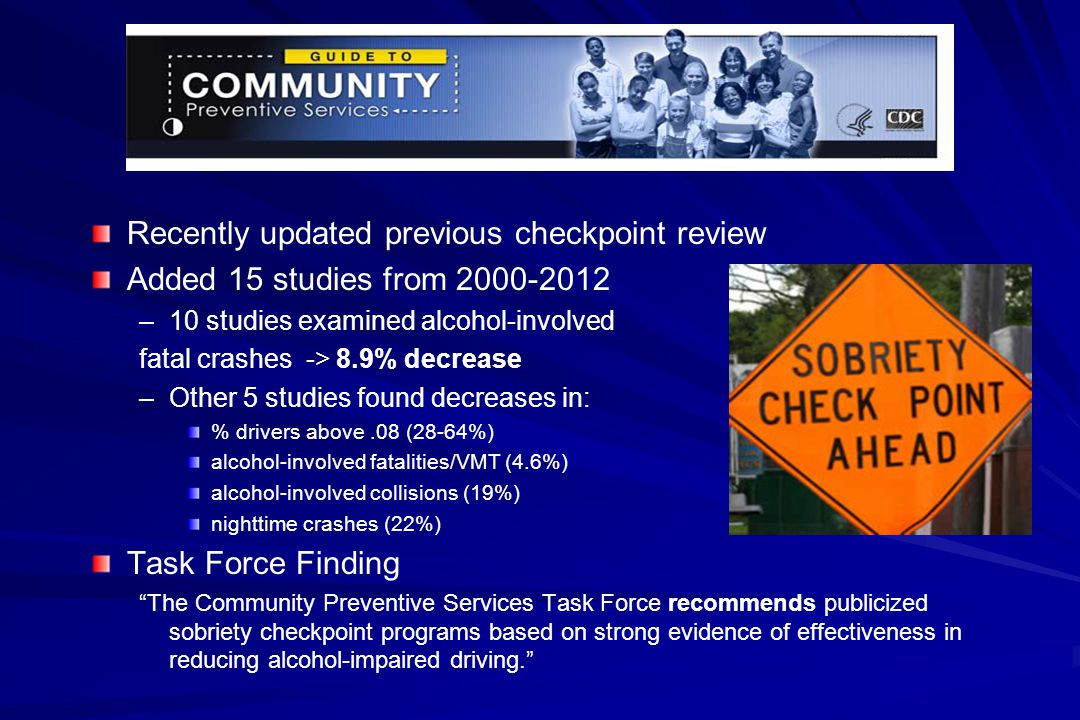 Recently updated previous checkpoint review