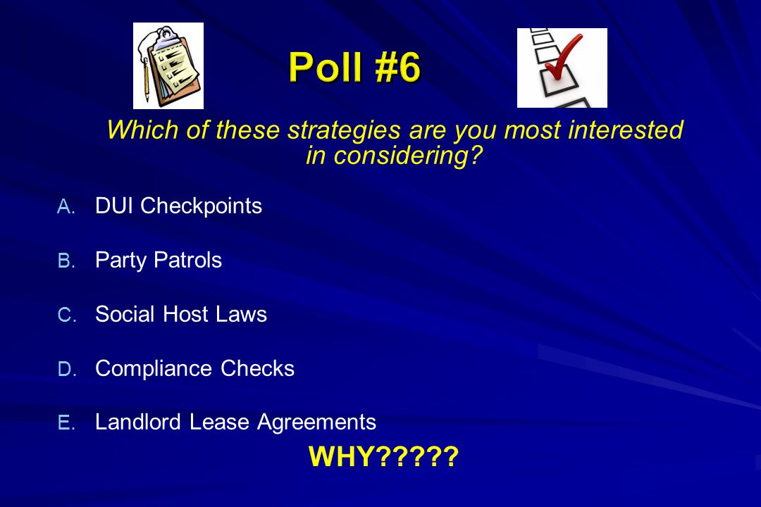 Which of these strategies are you most interested in considering