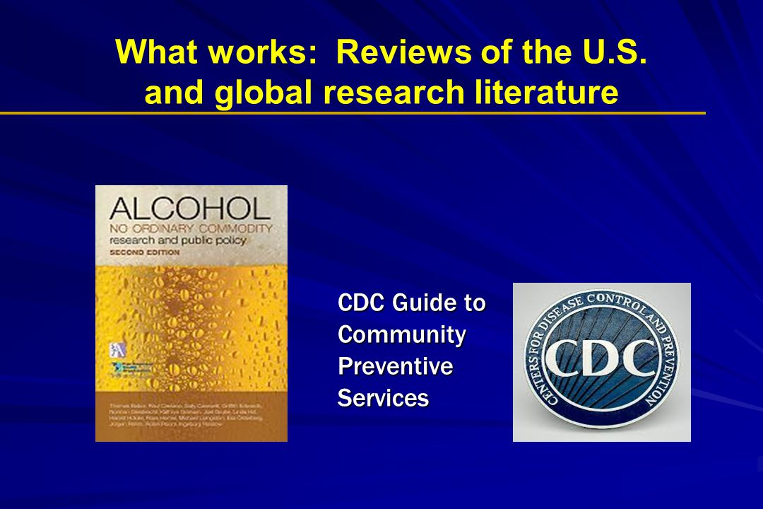 What works: Reviews of the U.S. and global research literature