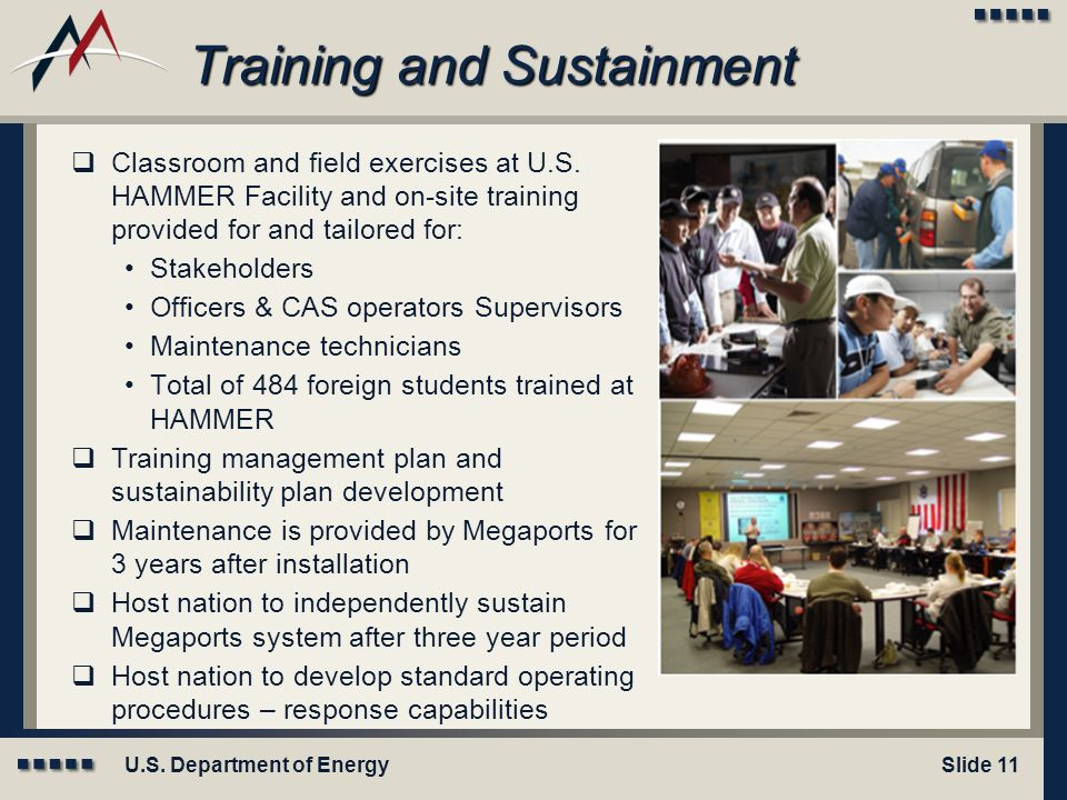 Training and Sustainment