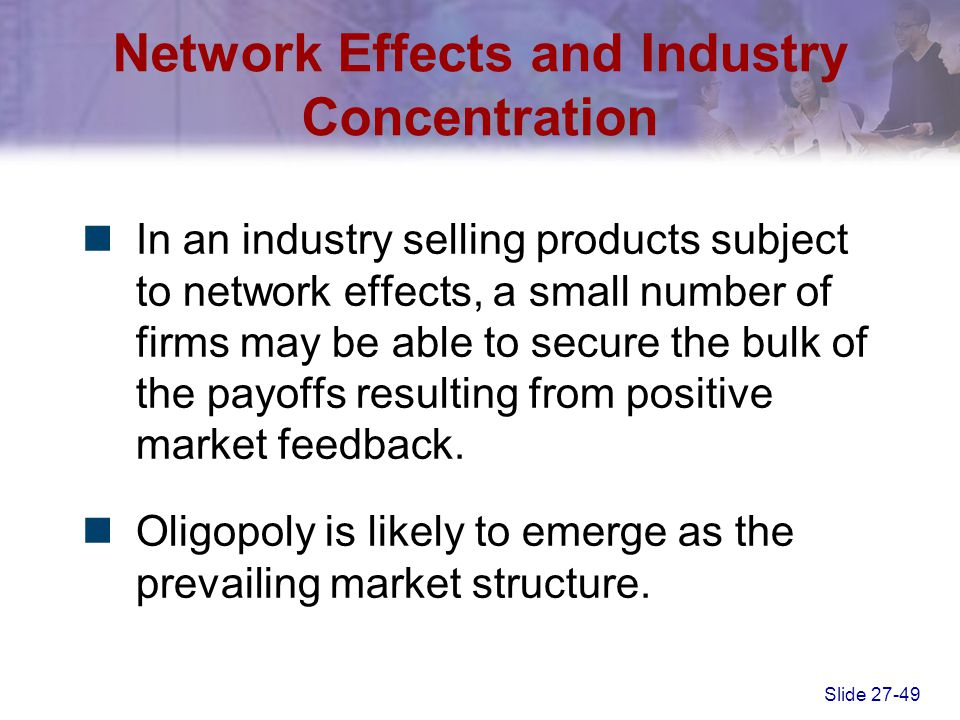 Network Effects and Industry Concentration
