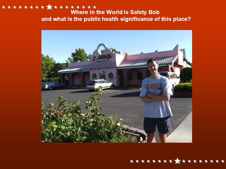 Where in the World is Safety Bob