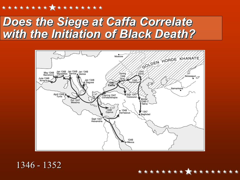Does the Siege at Caffa Correlate with the Initiation of Black Death