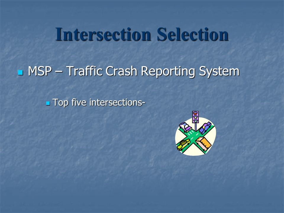 Intersection Selection