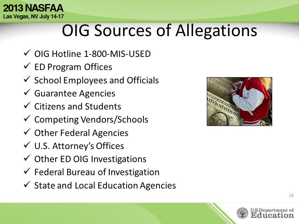 OIG Sources of Allegations