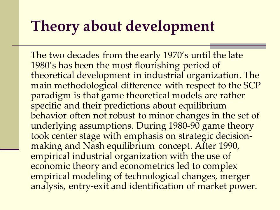 Theory about development