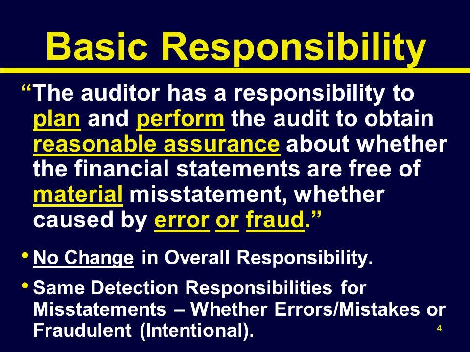 Basic Responsibility