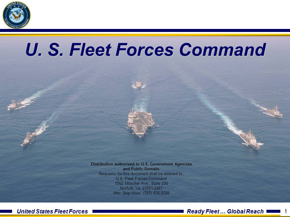 U. S. Fleet Forces Command