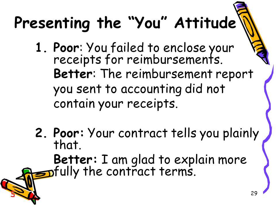 Presenting the You Attitude