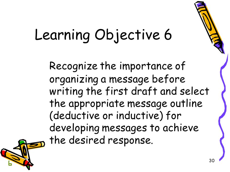BCOM Chapter 04 Learning Objective 6.