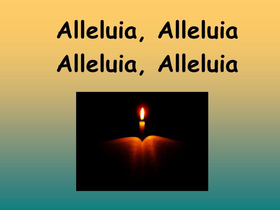 Alleluia, Alleluia