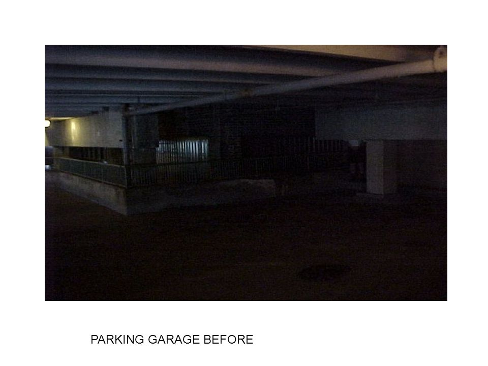 PARKING GARAGE BEFORE