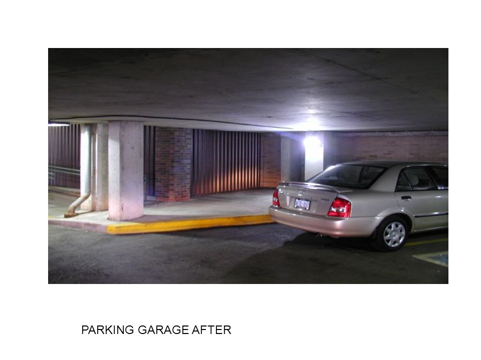 PARKING GARAGE AFTER
