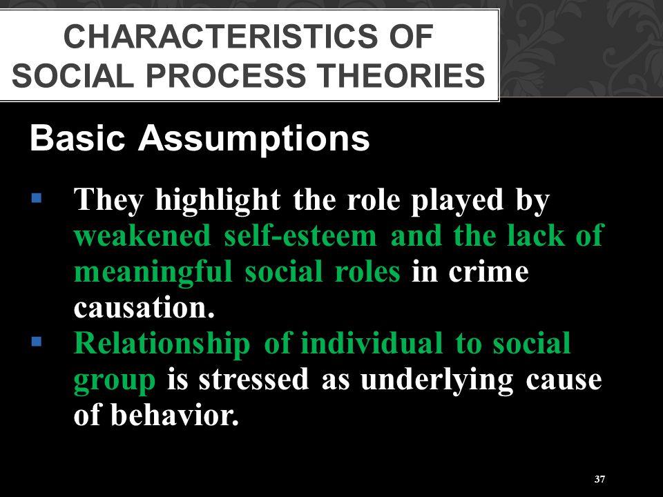 Characteristics of Social Process Theories