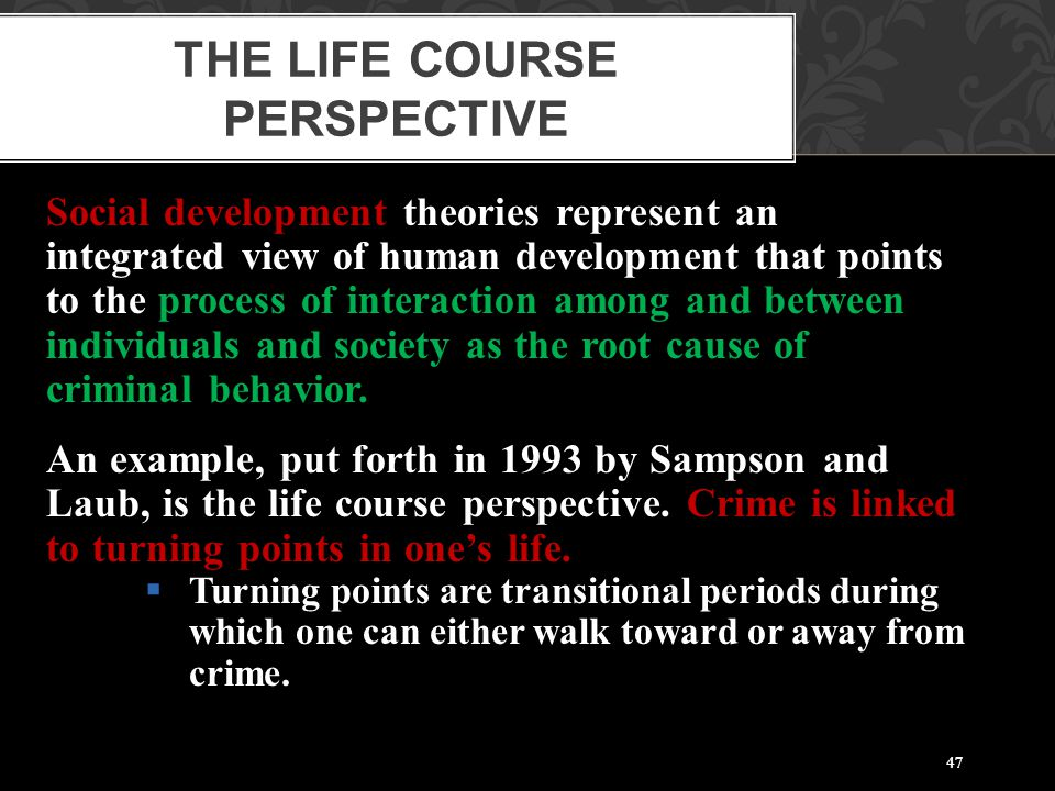 The Life Course Perspective