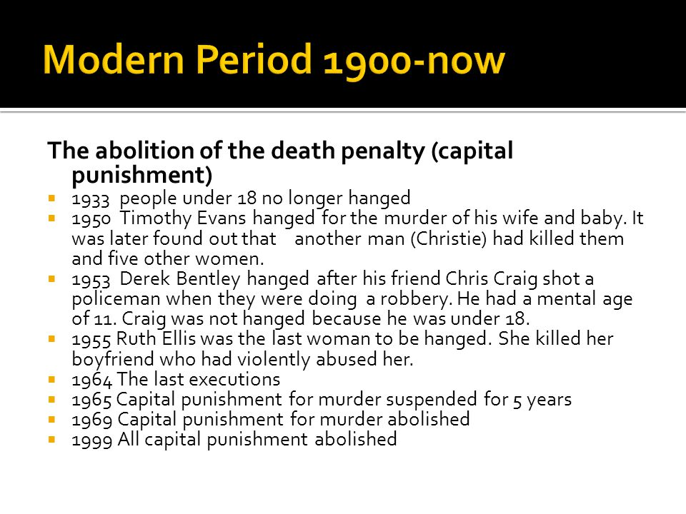 capital punishment for people under the age of 25 Nineteen people were under a federal death sentence  capital punishment 2001 december 2002, ncj 197020  circumstance murder of a child under the age of 12 (ark .