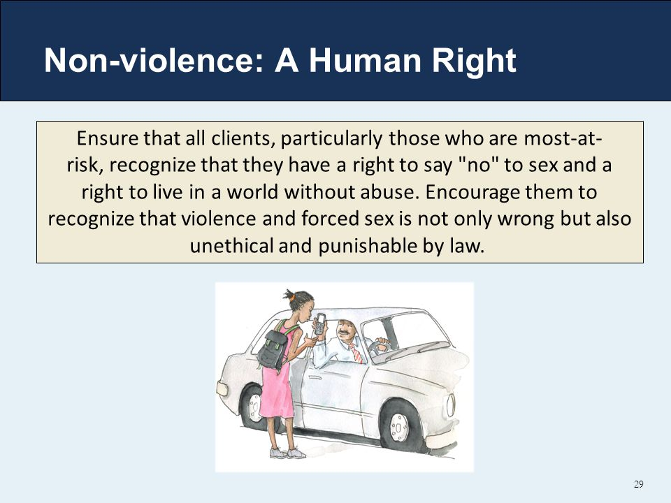 Non-violence: A Human Right