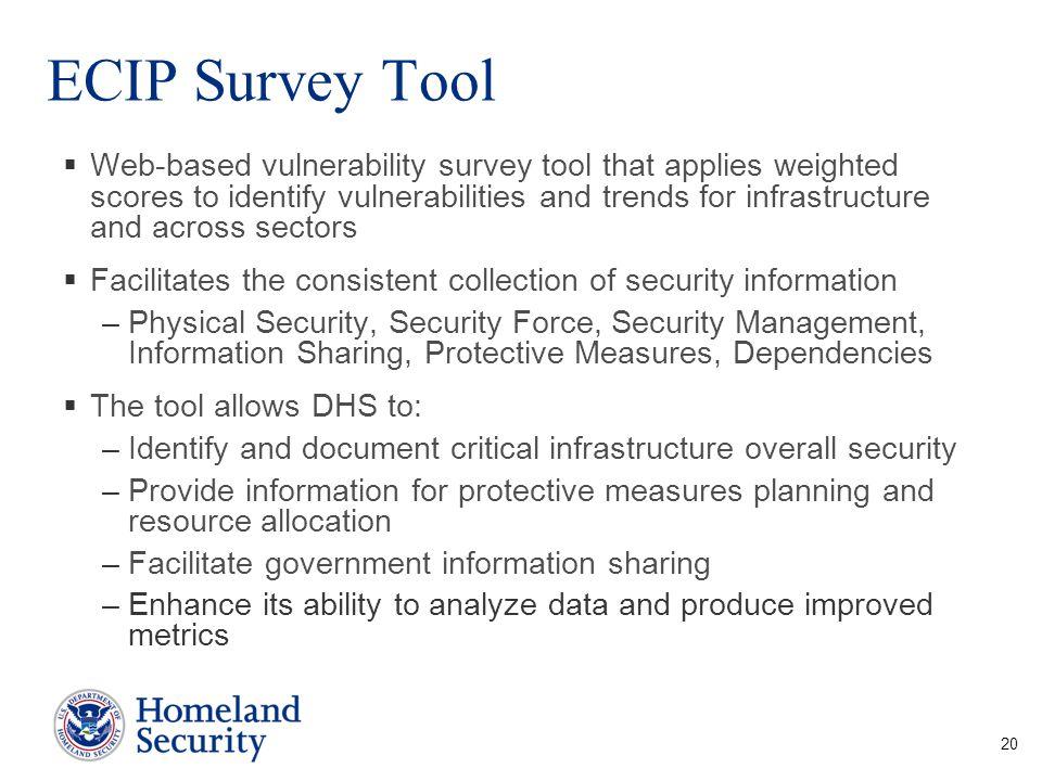 ECIP Survey Tool