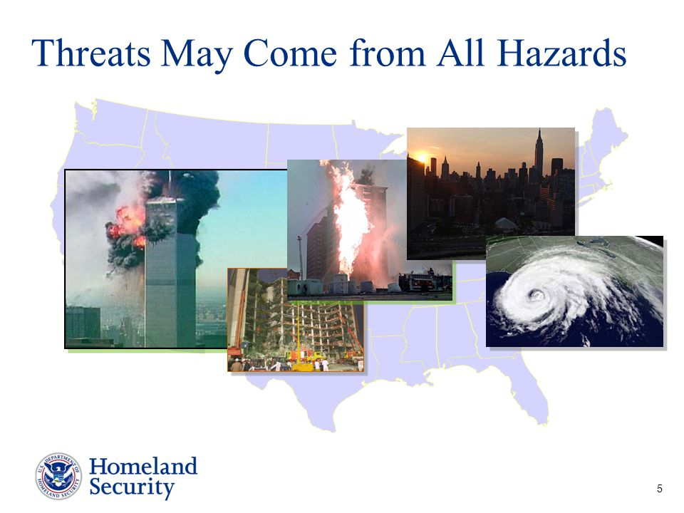 Threats May Come from All Hazards