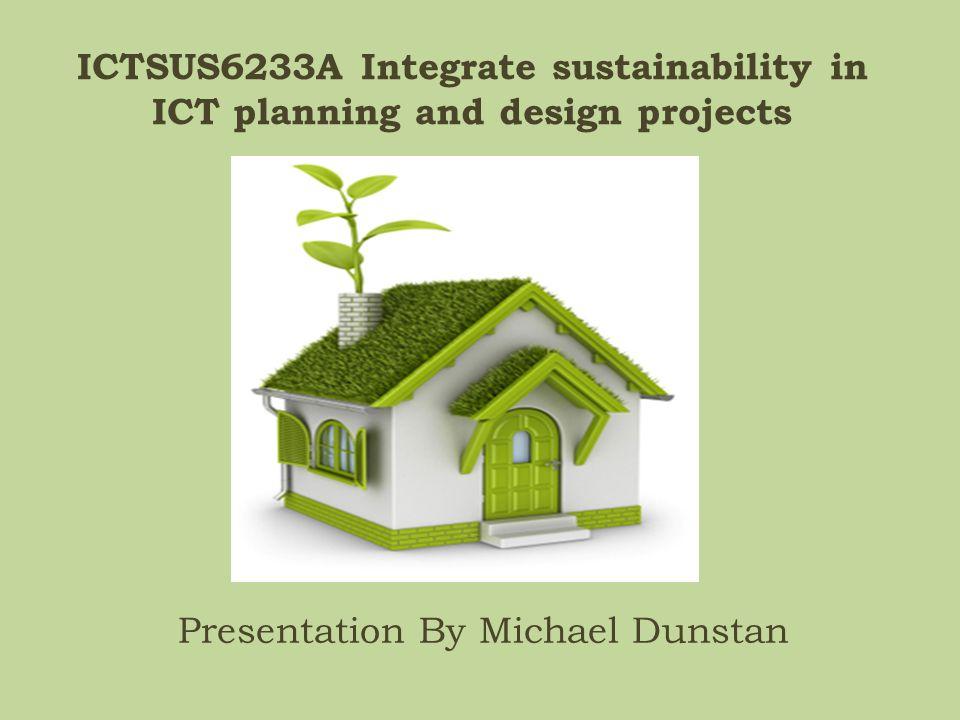 Presentation By Michael Dunstan