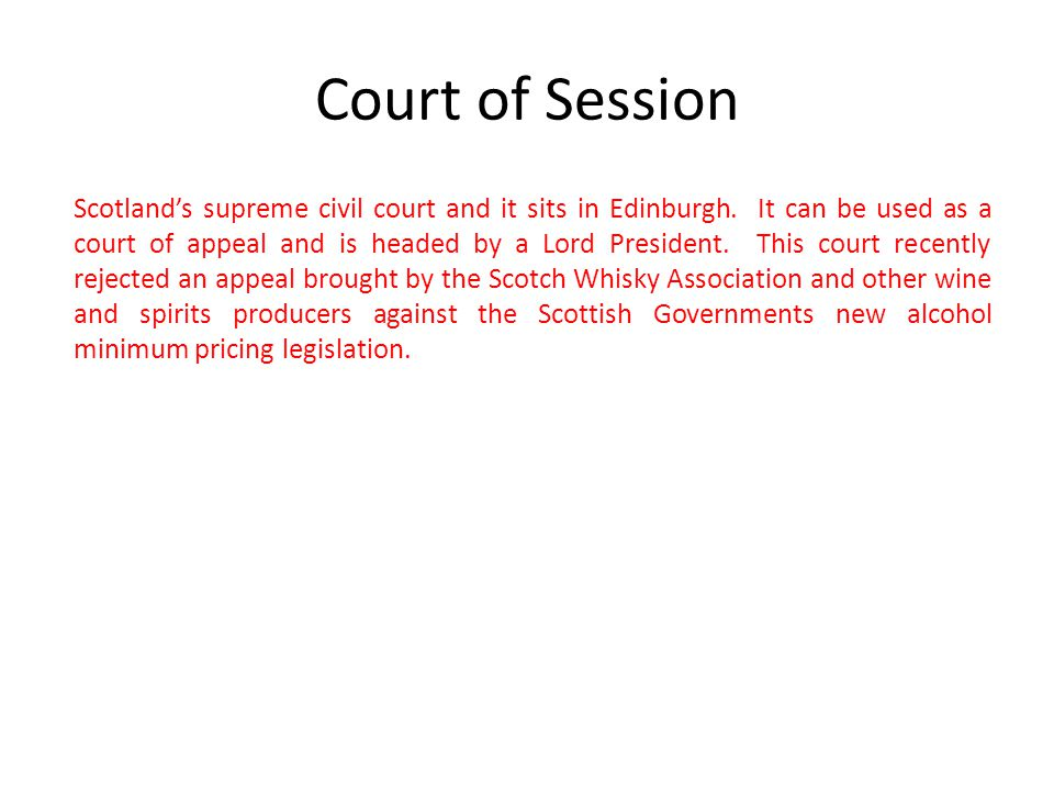 Court of Session
