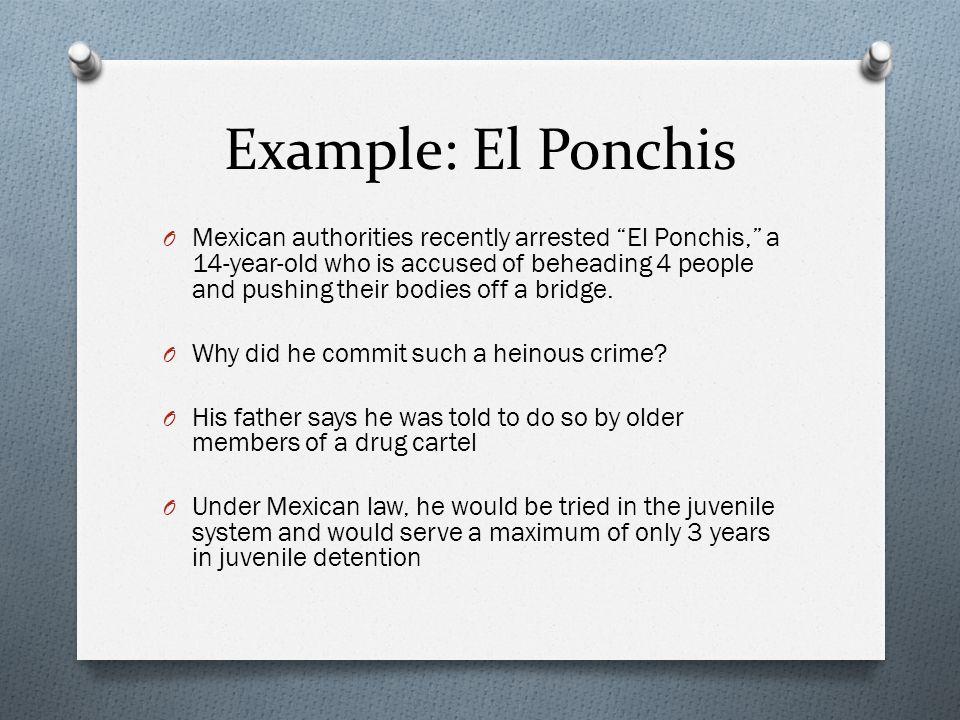 Example: El Ponchis