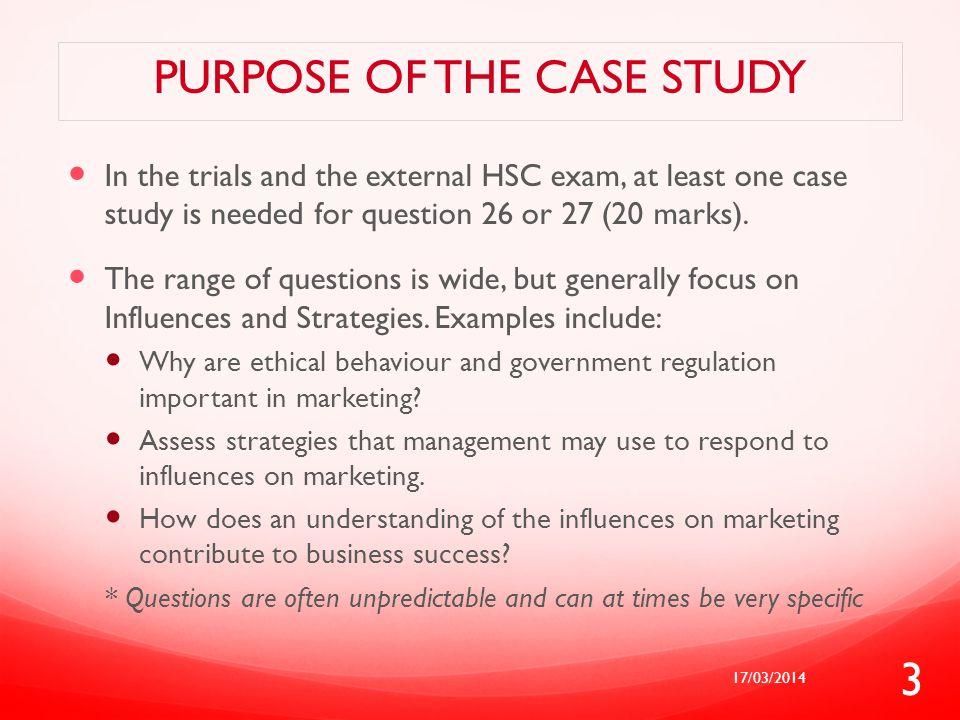 purpose of a case study