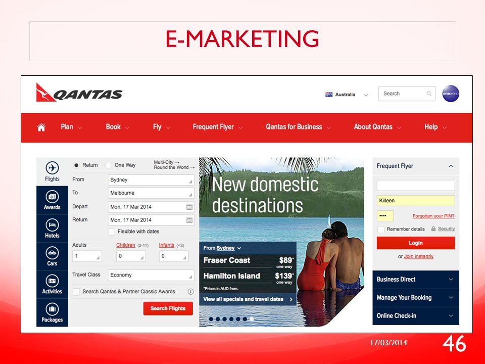 E-marketing 17/03/2014