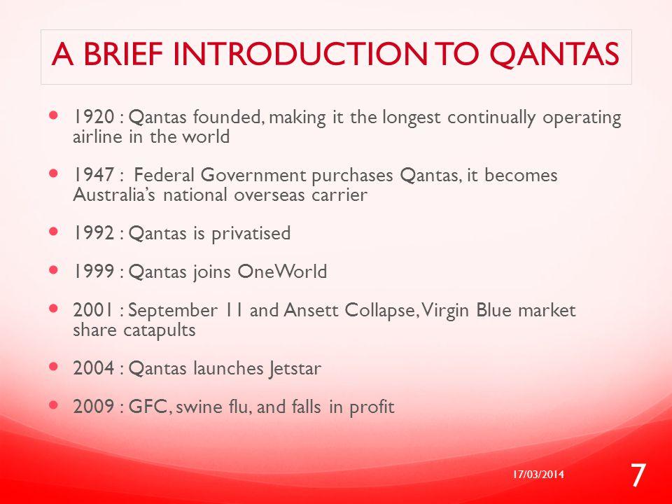 A brief introduction to Qantas