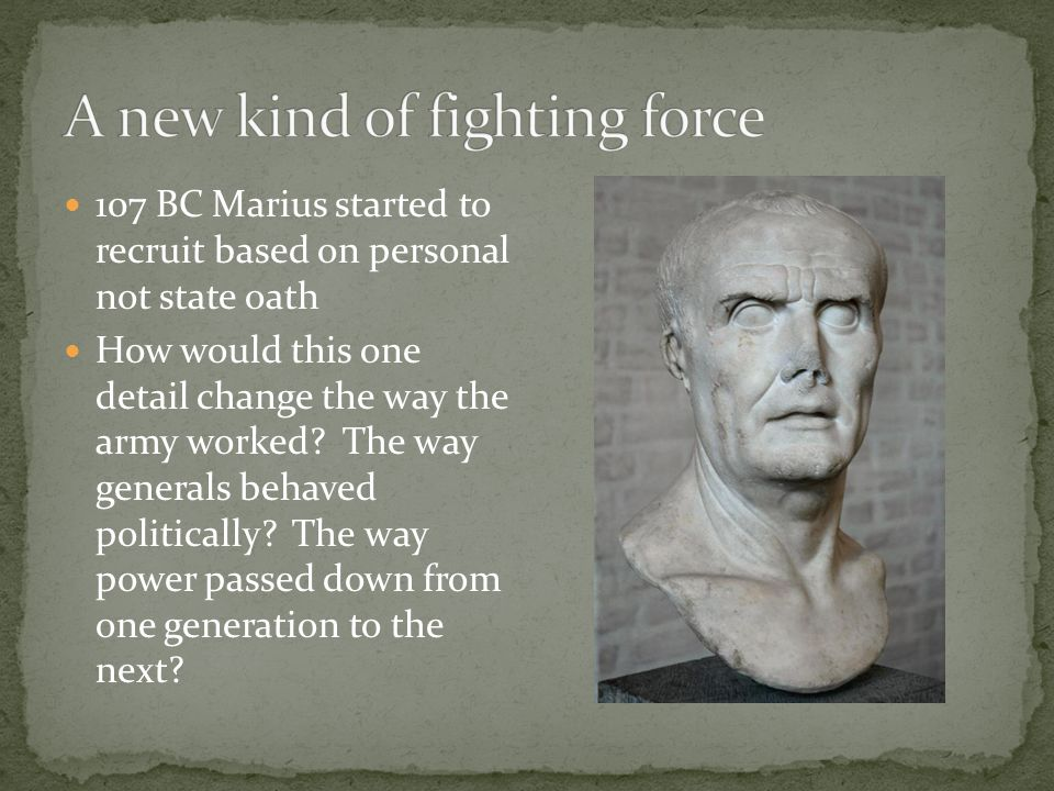 A new kind of fighting force