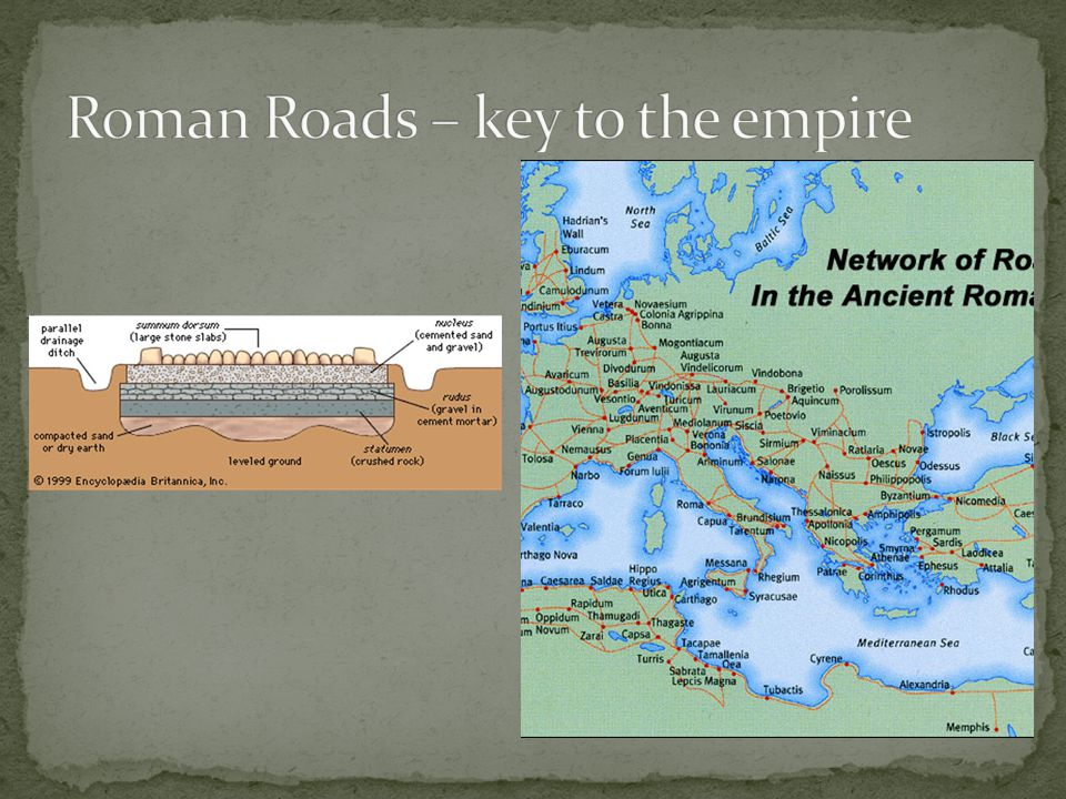 Roman Roads – key to the empire