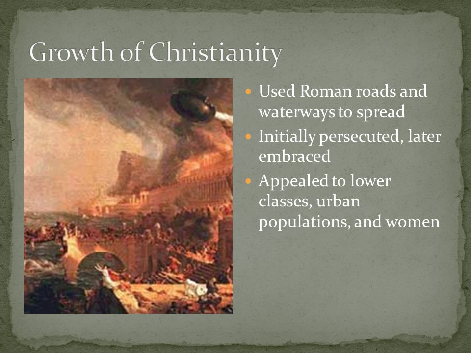 Growth of Christianity