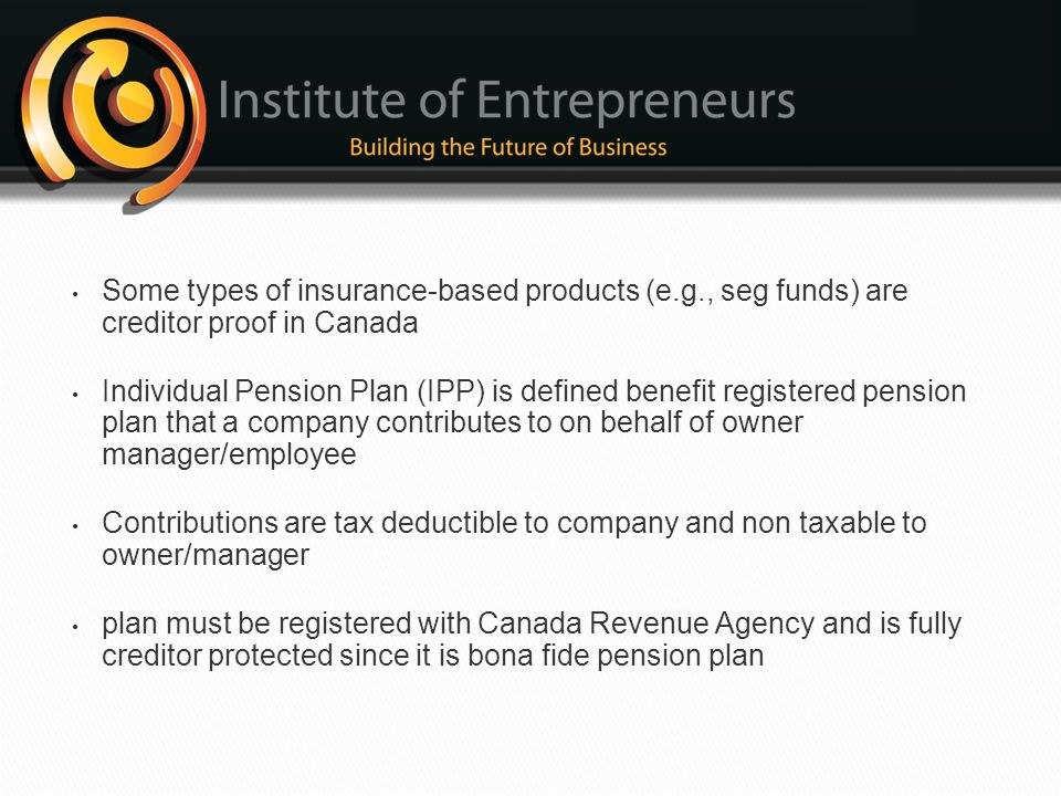 Some types of insurance-based products (e. g