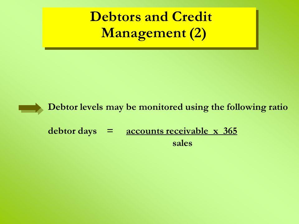 Debtors and Credit Management (2)