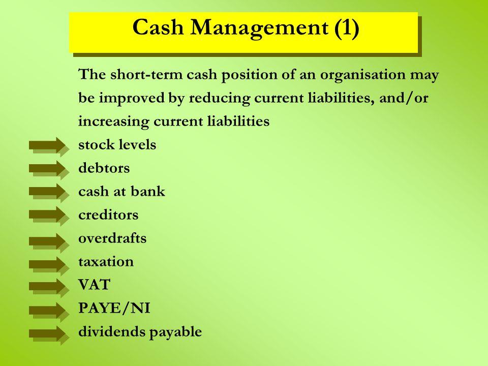 Cash Management (1)
