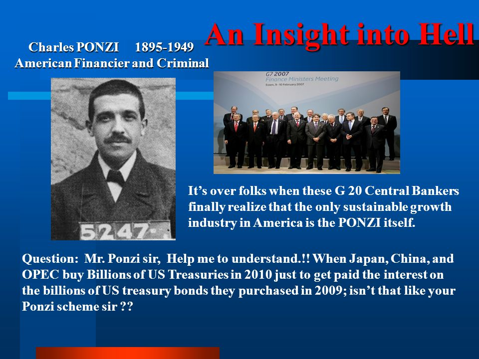 Charles PONZI 1895-1949 American Financier and Criminal
