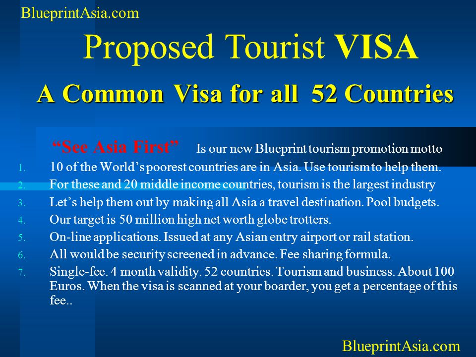 A Common Visa for all 52 Countries
