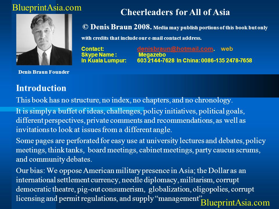 Cheerleaders for All of Asia